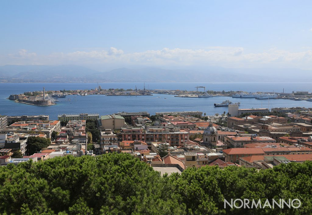 panorama di messina da cristo re in occasione de le vie dei tesori