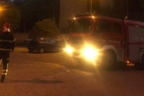Messina. Cadono calcinacci dal viadotto Trapani: colpite due auto