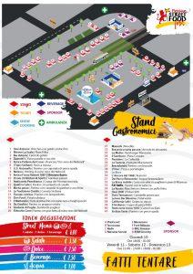 La mappa di Messina Street Food Fest