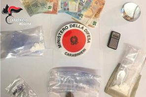 Eroina, cocaina e marijuana: due arresti per droga a Messina