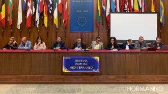 Cateno De Luca e la sua giunta rispondono alle domande della stampa sul primo anno di mandato