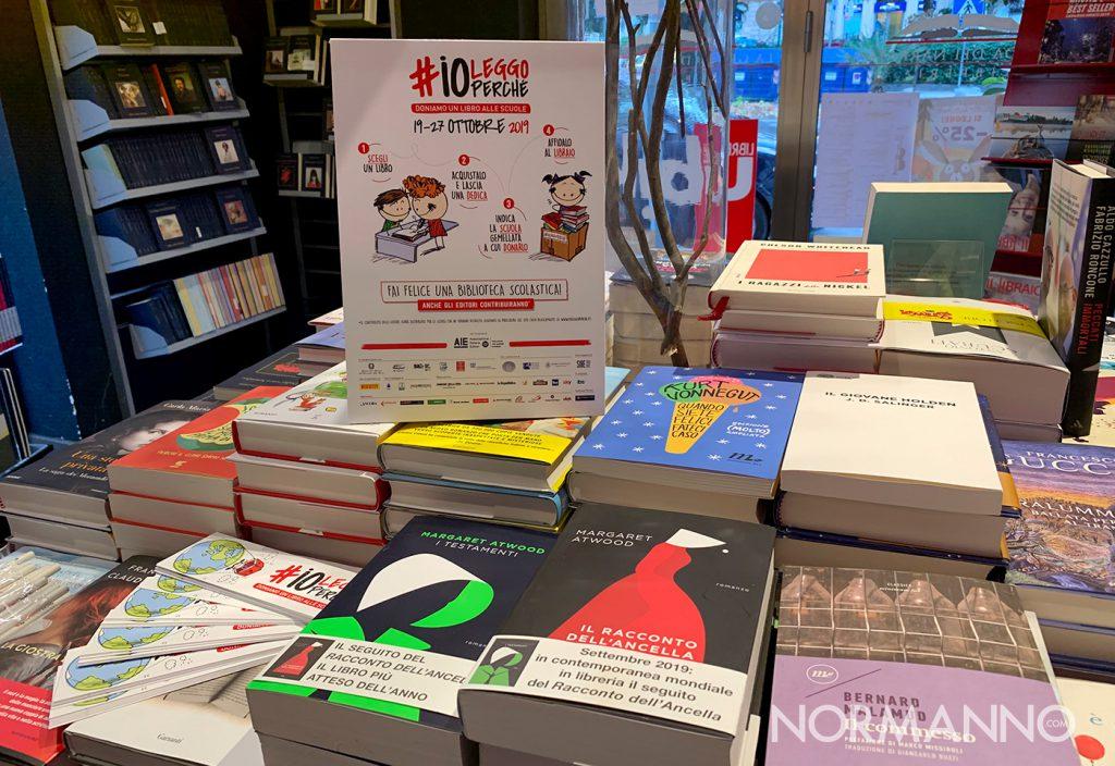 libri, iniziativa #ioleggoperché per donare libri alle scuole di messina