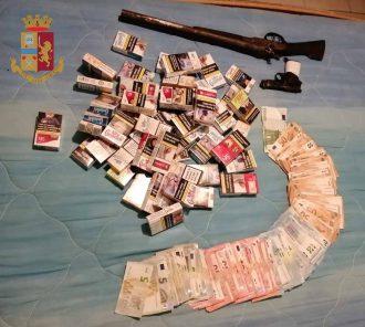 bottino della rapina ai danni di un tabacchi di Messina