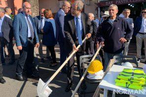 Musumeci a Messina per il via ai lavori del torrente Bisconte-Catarratti