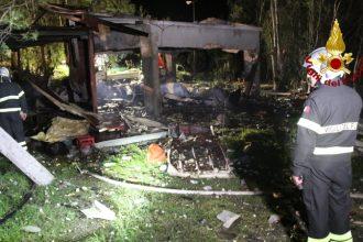 esplosione in una fabbrica di fuochi d'artificio a barcellona