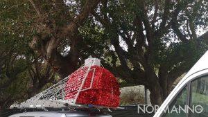 allestimento del Natale 2019 a piazza Cairoli, a Messina