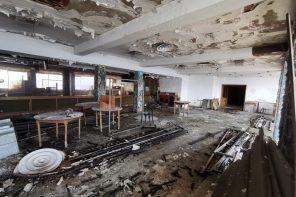 Tra le macerie dell'ex Hotel Riviera: simbolo della Messina abbandonata