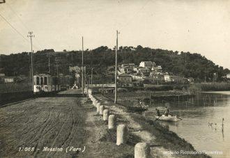c'era una volta Messina: foto d'epoca del tram a faro