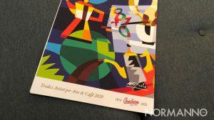 13 artisti per arte e caffè, presentazione del calendario di caffè barbera per nemo sud