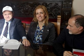 Cateno De Luca, Dafne Musolino e Giuseppe Lombardo parlano delle iniziative per promuovere la raccolta differenziata a Messina