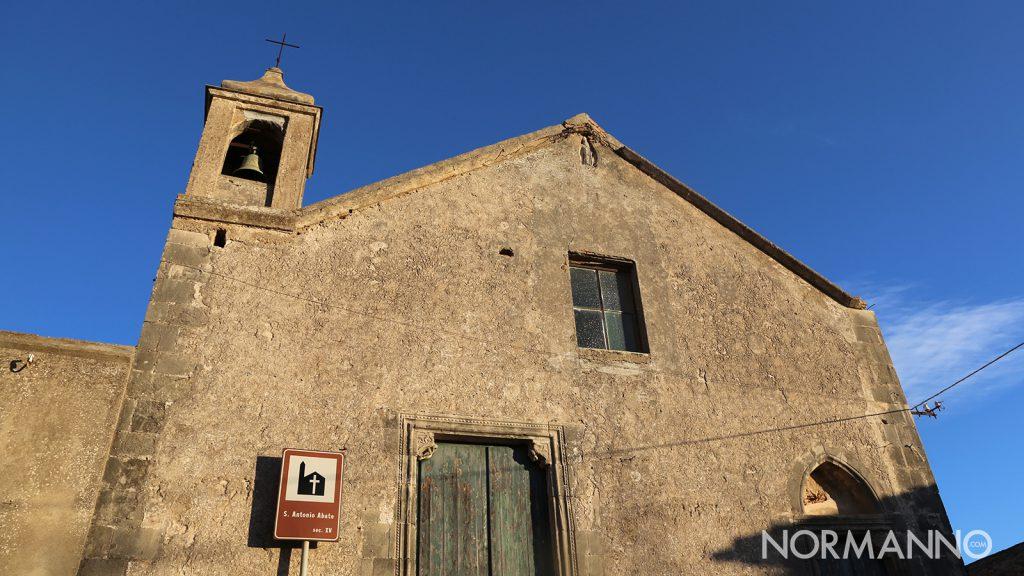 Luoghi di Messina: chiesa di sant'antonio abate a massa san Giorgio