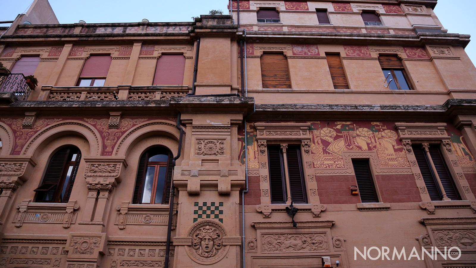 luoghi di Messina: palazzo tremi o palazzo del gallo di gino coppedè