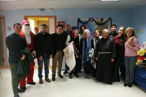 Natale all'ospedale Papardo: doni e sorprese per i piccoli pazienti