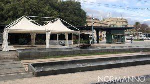 allestimento del natale di piazza cairoli 2019 a messina