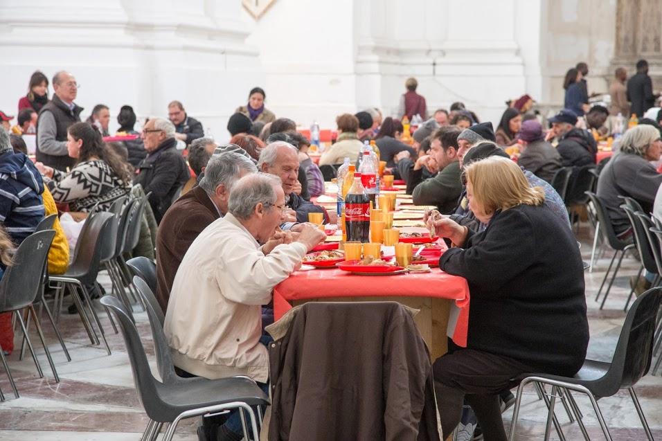 pranzo di natale della comunità di sant'edigio a messina