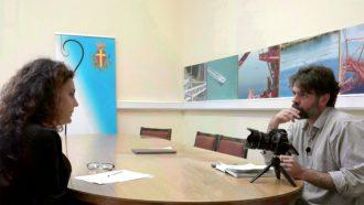 l'assessore carlotta previti intervistata da report sul progetto mesmart contenuto nell'ambito del pon metro