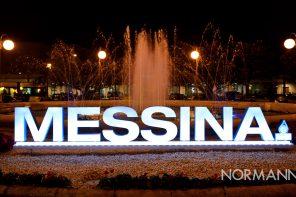 La fontana della Stazione Centrale di Messina cambia volto: rimessa a nuovo per il Natale