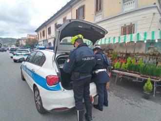 Foto sequestro polizia municipale sul viale Europa - Messina