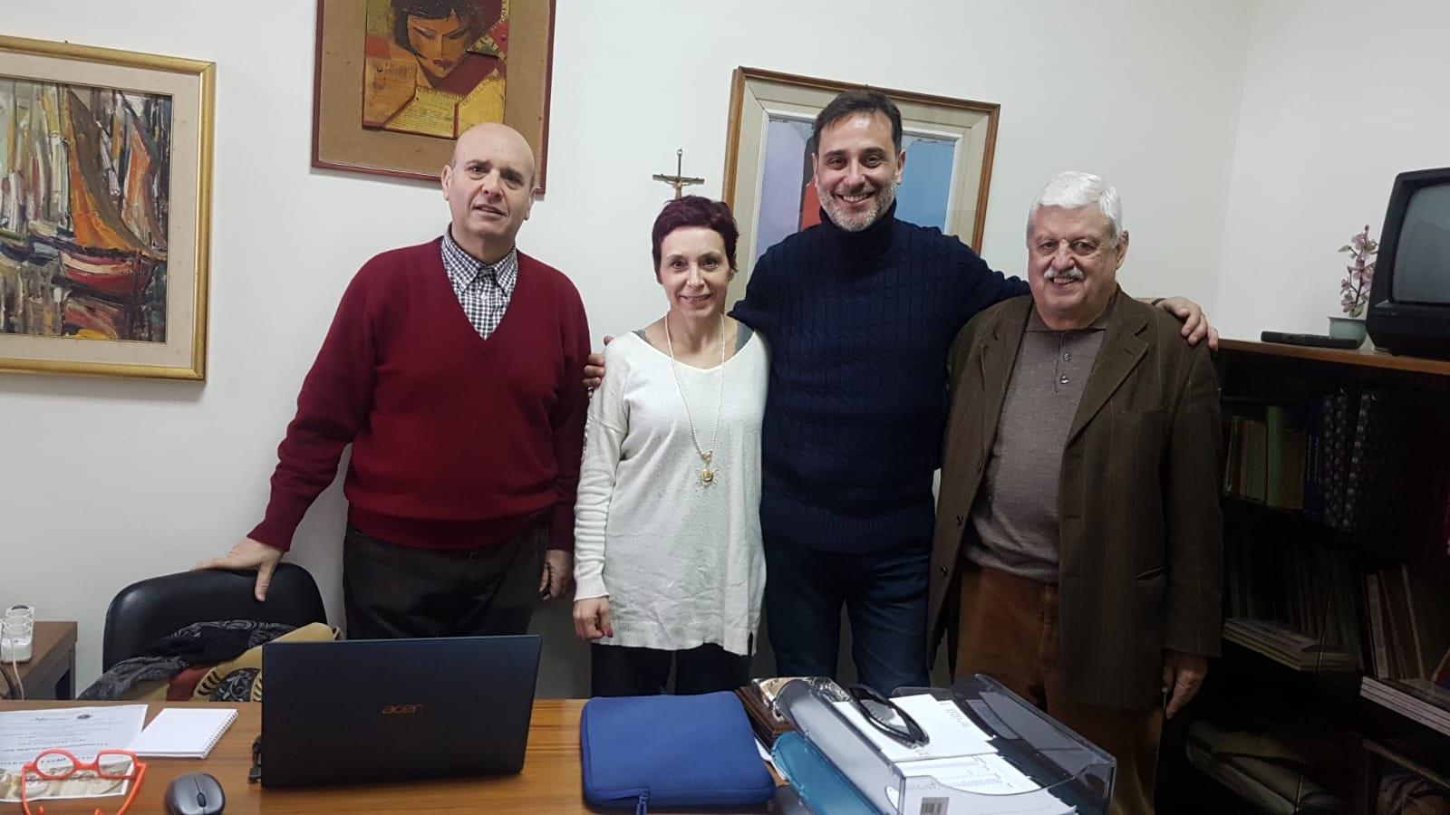 giornalisti culturali messina: Cuzari, Lombardo, Fiorino, Andò