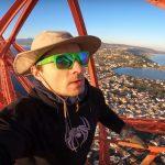 collettivo dalla polonia scala pilone stretto di messina - video