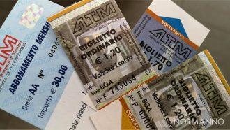 Foto dei vecchi biglietti e abbonamenti ATM, nuovi ATM SpA