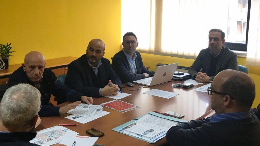 tavolo di ATM Messina per le iniziative di prevenzione del coronavirus