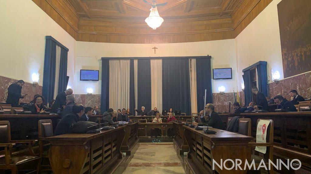 discussione della delibera sugli ispettori ambientali in consiglio comunale