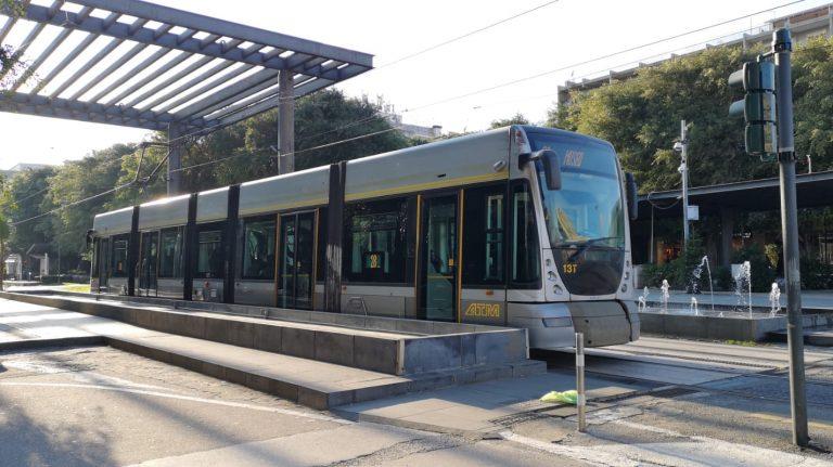 tram di messina, fermata di piazza cairoli