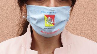 mascherina anti-coronavirus fatta in sicilia