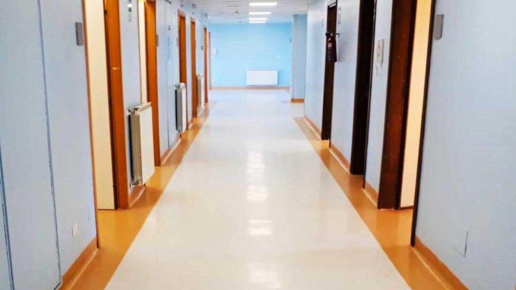 nuovo reparto di malattie infettive dell'Ospedale Papardo di Messina, dedicato ai pazienti affetti da coronavirus