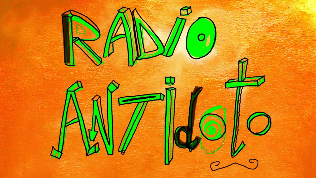 disegno con logo radio antidoto