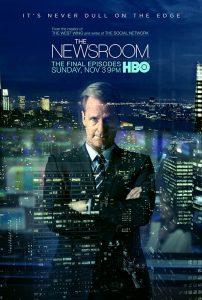 serie tv da non perdere: locandina the newsroom
