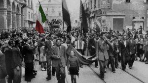25 aprile, festa della liberazione, foto d'epoca