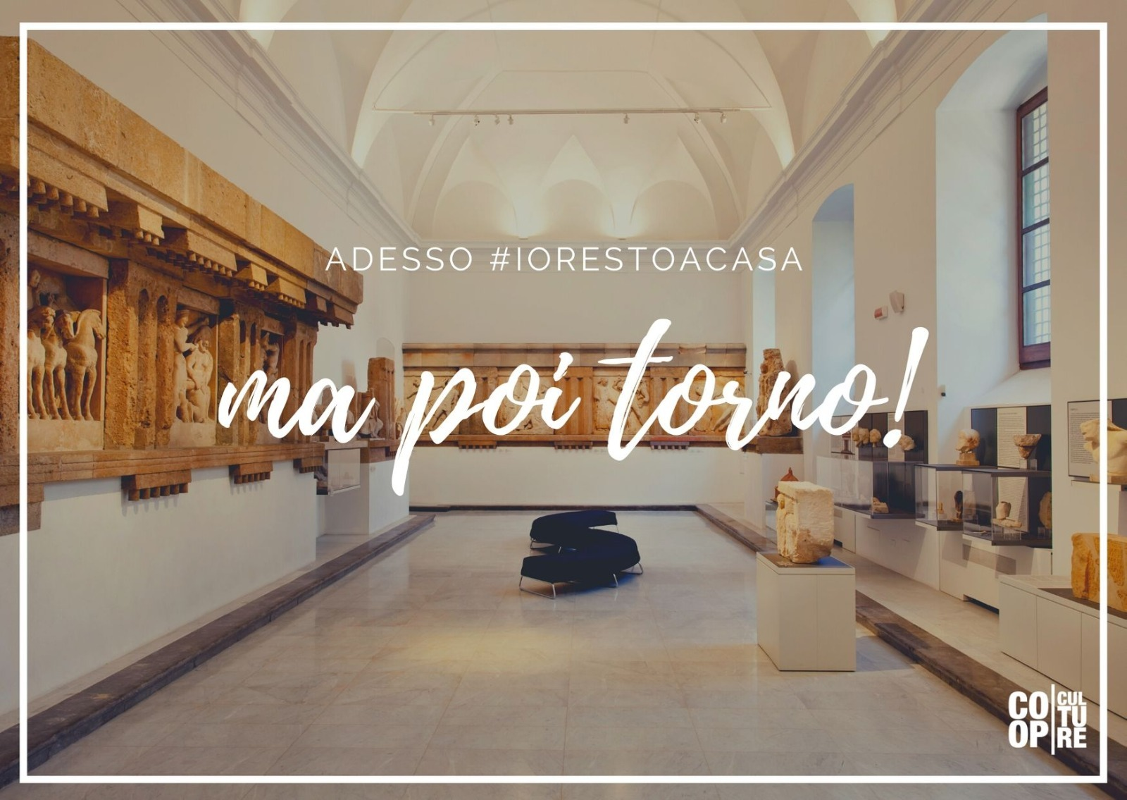 cartolina del progetto Culture at Home