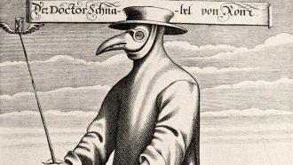c'era una volta messina: stampa raffigurante il medico spurgatore che si occupava dei malati di peste