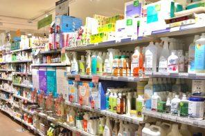 negozio di prodotti per igiene della casa e della persona