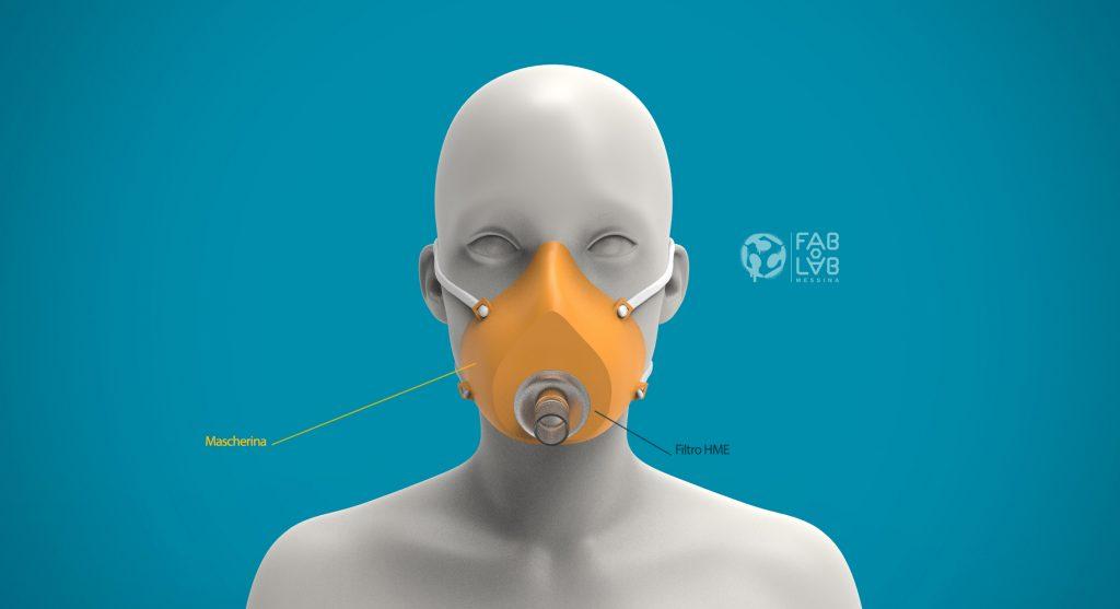 mascherina open mask sicilia