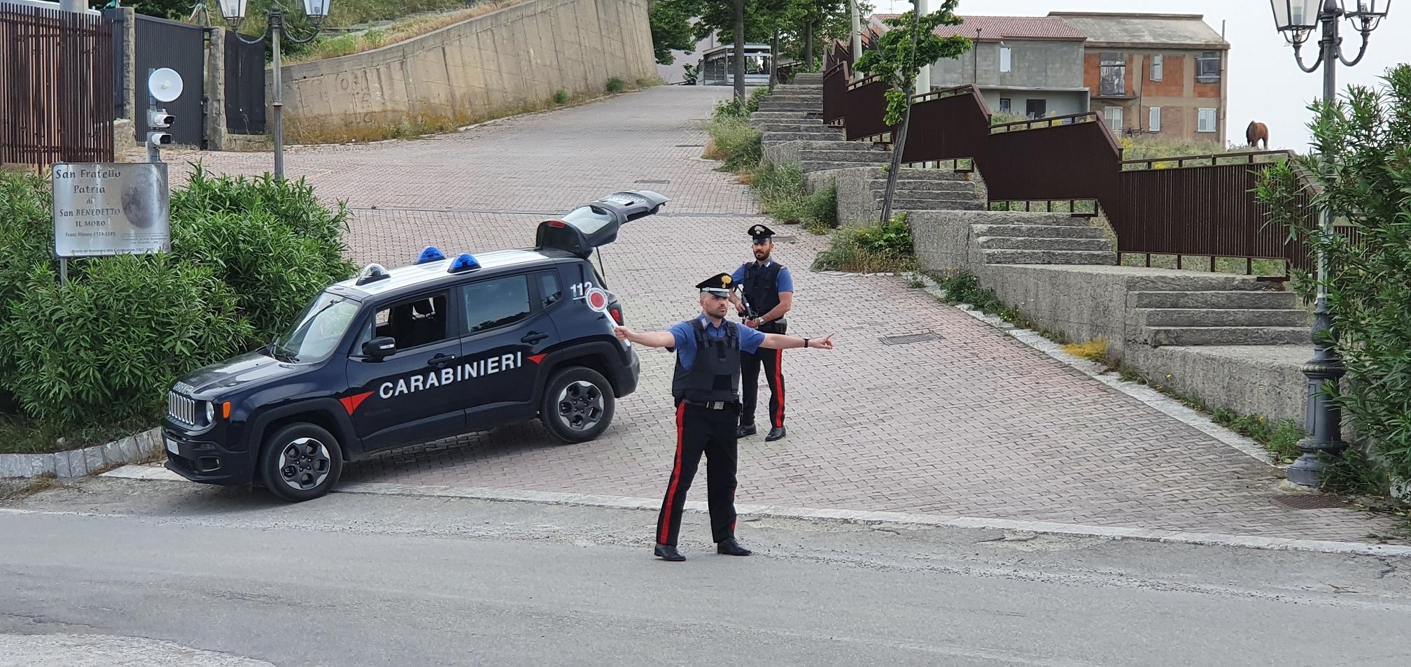 carabinieri della Stazione San Fratello