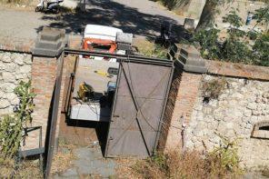 forzato l'ingresso del forte ogliastri a Messina