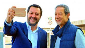 Nello Musumeci e Matteo Salvini