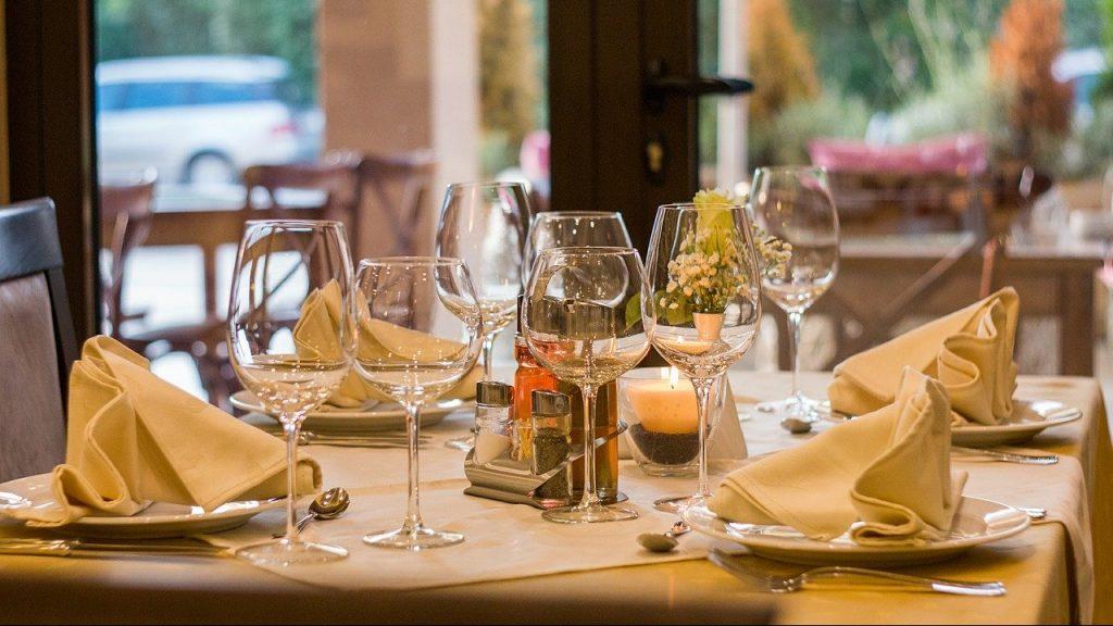 tavolo di un ristorante