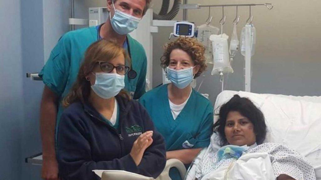 foto di hafiza, donna ricoverata a palermo per il coronavirus quando era incinta e dichiarata guarita dal covid-19