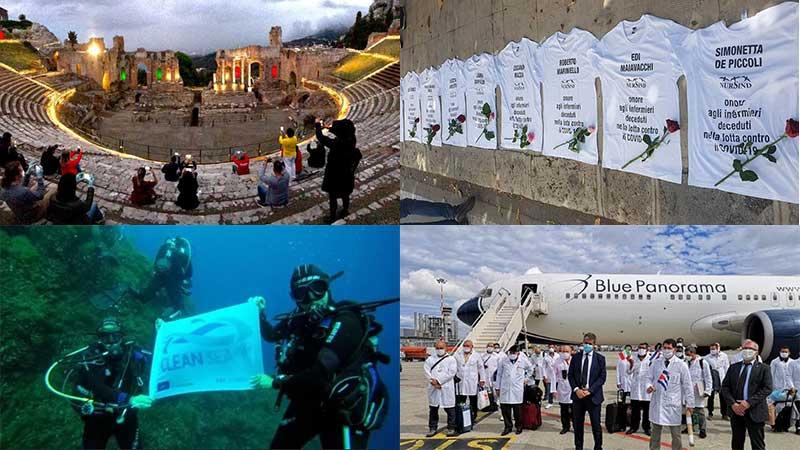 quattro belle notizie da messina, dall'italia e dal mondo: episodio 7