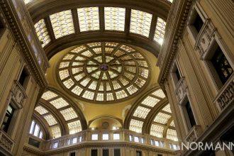 foto del soffitto della galleria vittorio emanuele di messina