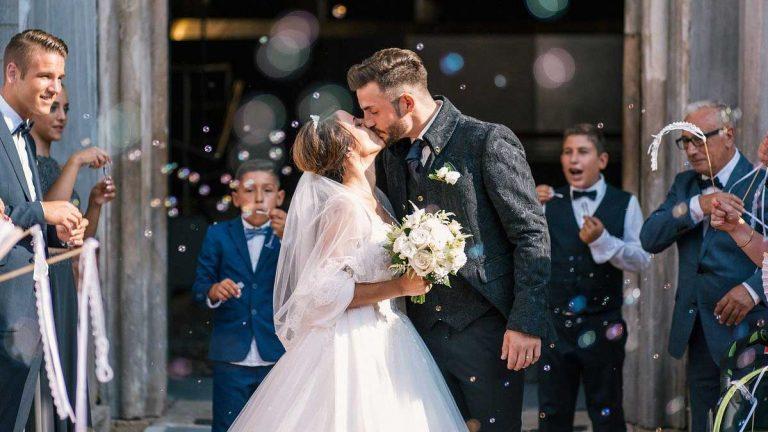 foto di un matrimonio