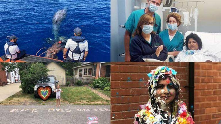 collage delle quattro belle notizie da messina e dal mondo – episodio 9