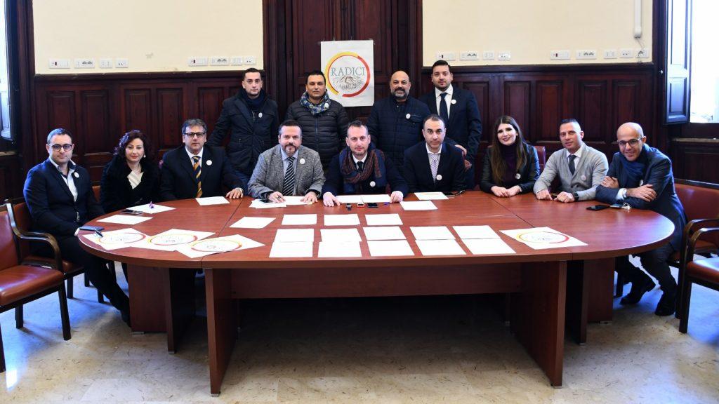 foto della presentazione dell'associazione Radici di Messina