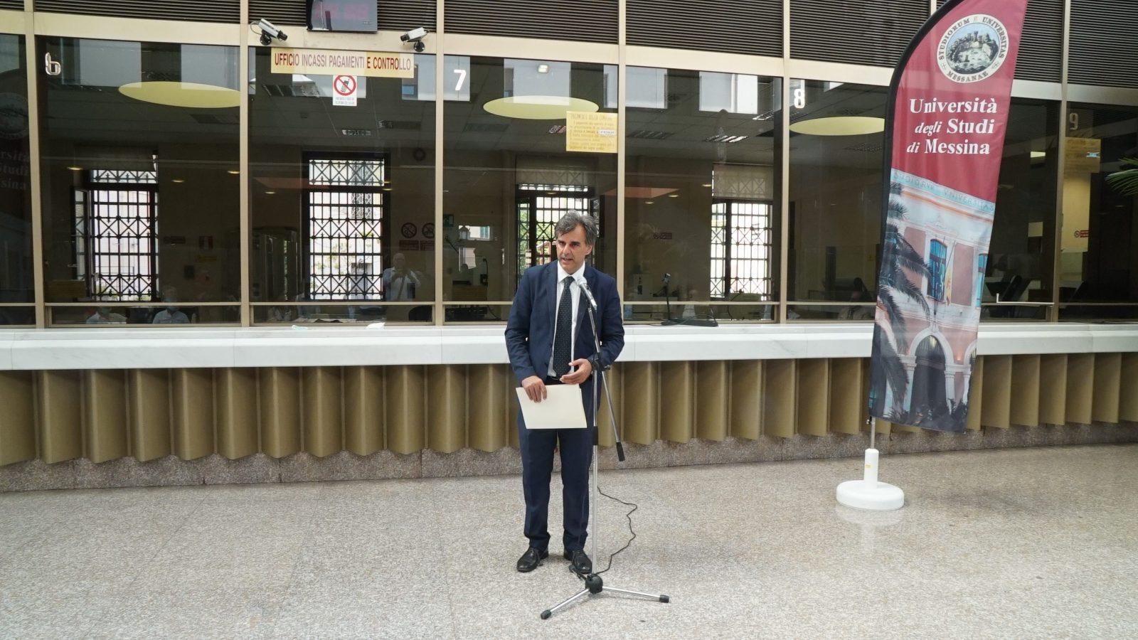 banca d'italia acquisita dall'università di messina: il rettore salvatore cuzzocrea