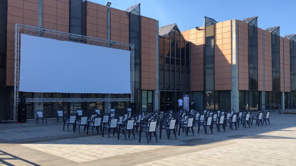 cinema all'aperto restate al museo di messina (MuMe) con il multisala apollo