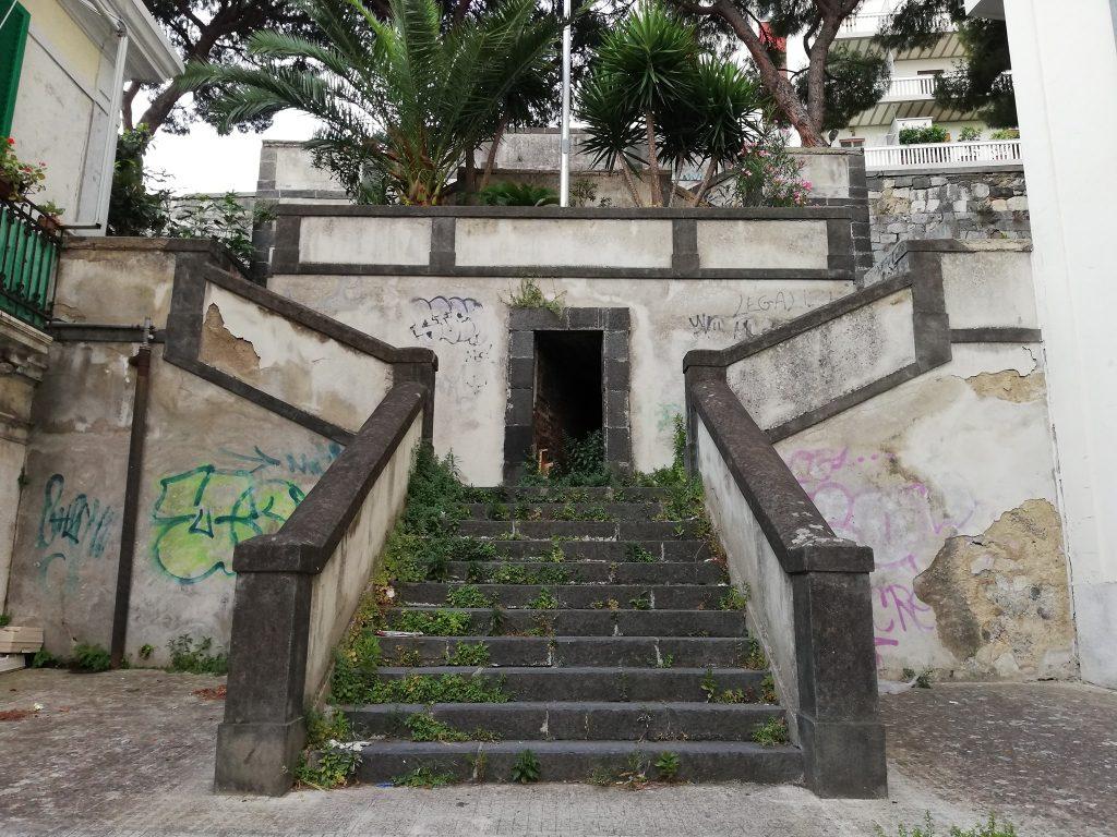 scalinata boccetta